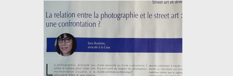 Relation entre la photographie et le street-art: une confrontation?